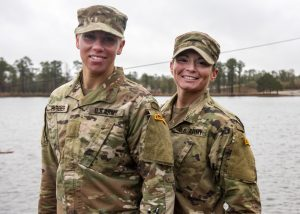 the first enlisted female Guard Soldiers to graduate Ranger School